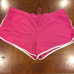 SALE Pink athletic shorts